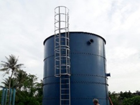 Project:  Water tank, water tank My An Water Supply Plant
